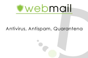 Antivirus, Antispam and quarantine enhanced for your mailboxes!